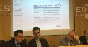 Bernat-N Tiffon (a la izquierda) ha dirigido las Jornadas Psicológico Criminológicas de ESERP
