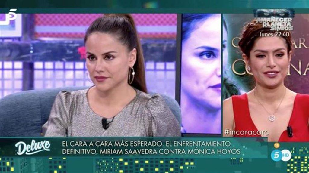 Mónica Hoyos Y Miriam Saavedra Lamentable Espectáculo En Sábado