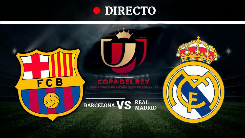 Barcelona - Real Madrid  La previa del Clásico de la Copa del Rey ... bc2b03d55ae