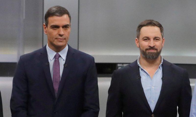 """Sánchez asegura que Abascal """"muestra más responsabilidad de Estado"""" que Casado"""