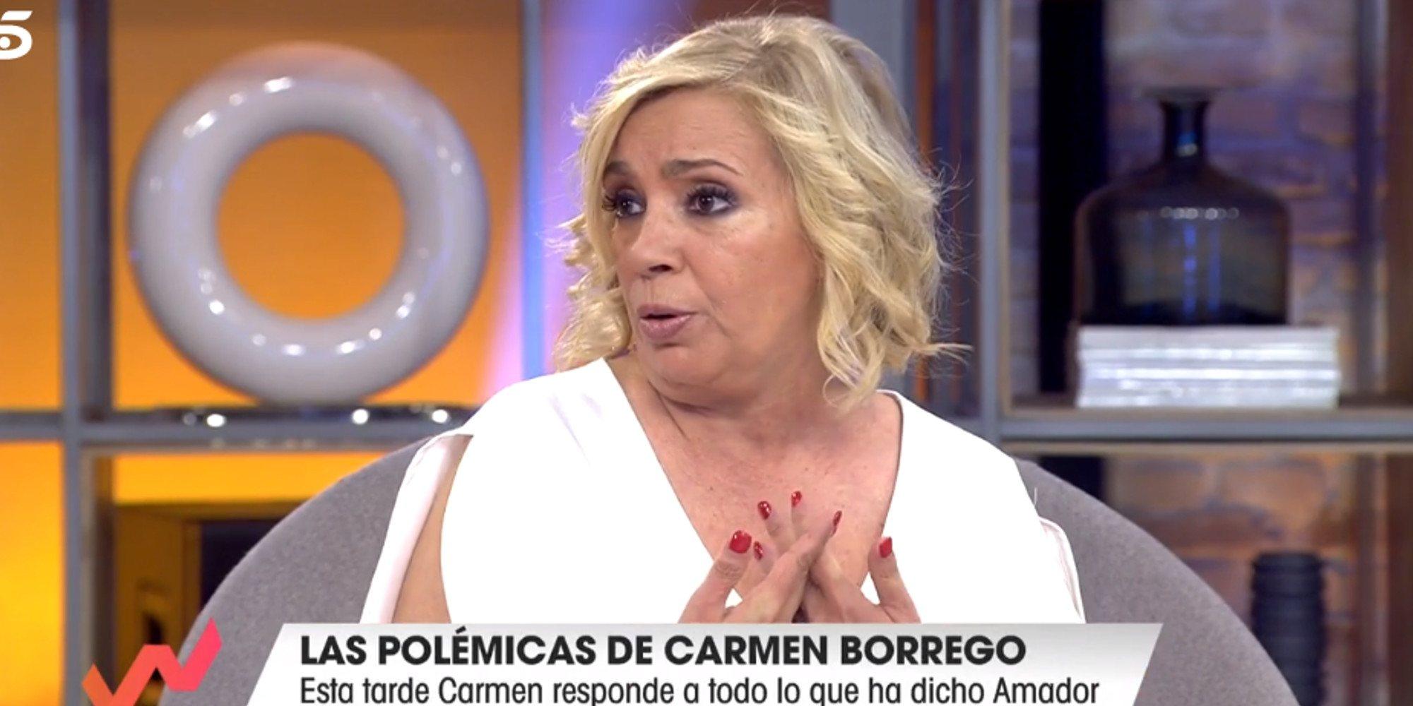 """Amador Mohedano a Carmen Borrego """"qué te he hecho para que hables de mí con desprecio"""" 7"""