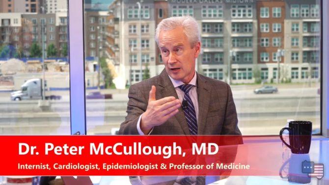 Peter McCullough denuncia la mala praxis médica con el COVID: «Los médicos  parecen haber experimentado un lavado de cerebro» | Noticiero Universal